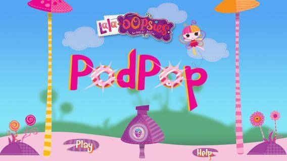 Our sew fun game Pod Pop is now available in the Apple App Store! Pop the  pods and free the fairies in the land of the Lala-Oopsies! #Lalaloopsy