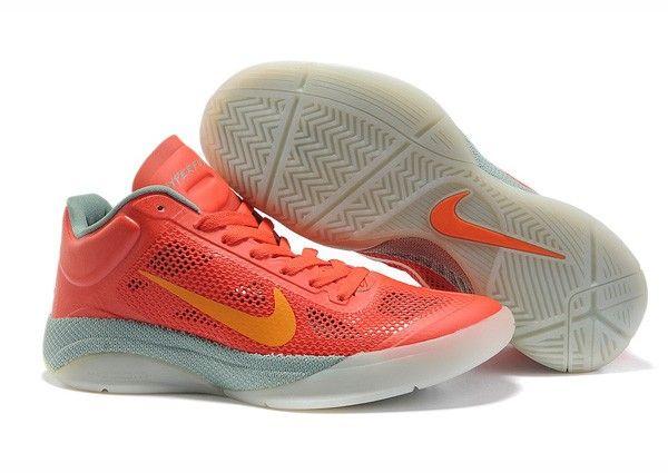 Jeremy Lin Nike Zoom Hyperfuse Low Sneakers (Orange/White)