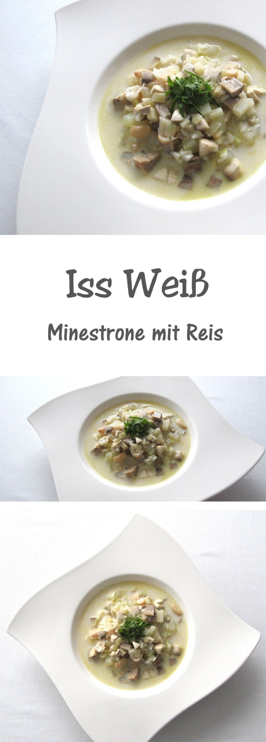 vegane Minestrone mit Reis