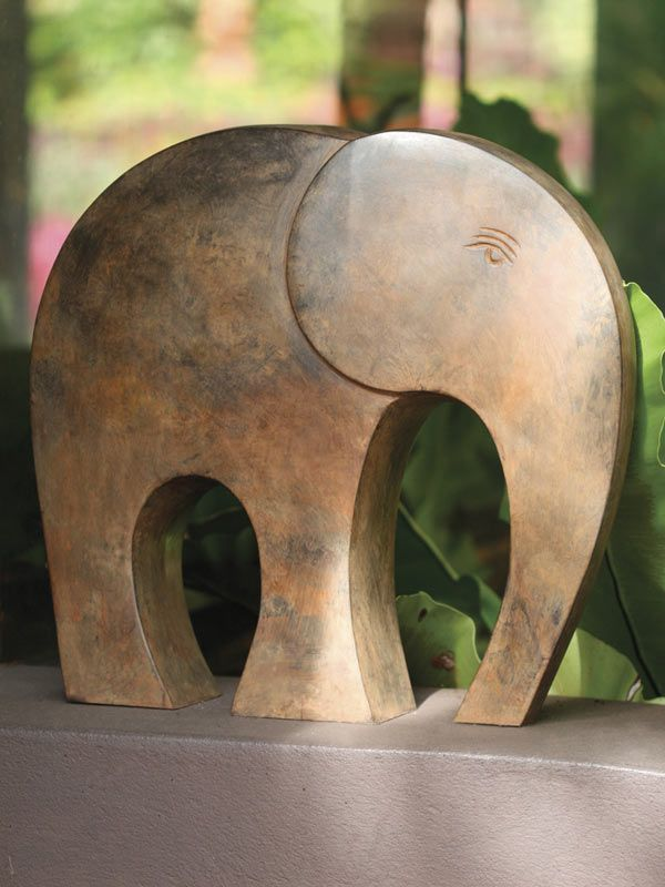 Elephant Decor: A fresh new look at an ancient creature. Modern style is mixed with a child