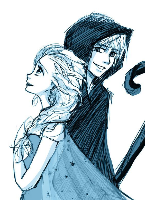 The Guardian And His Queen 3 Jack Frost And Elsa Jelsa Jack Frost