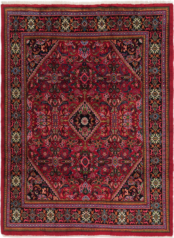 Red 8 10 X 12 Mahal Persian Rug Persian Rugs Esalerugs