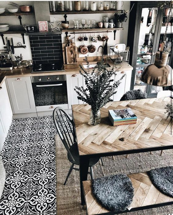 Easy Design Ideas For Your Own Stylish Eat-in Kitchen