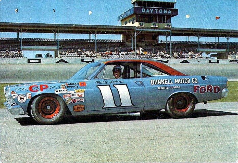 Mario Andretti 1967 Daytona 500 Winner.   Ford   Pinterest   Daytona ...