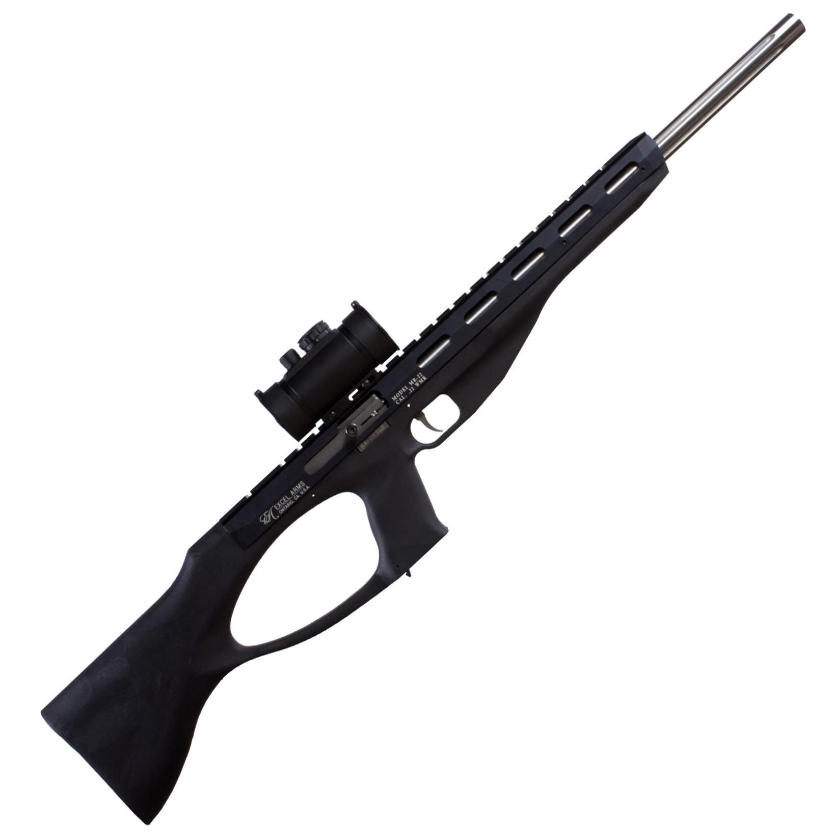 "Excel Arms Accelerator 22 WMR 18"" Barrel 9 Rounds Black"