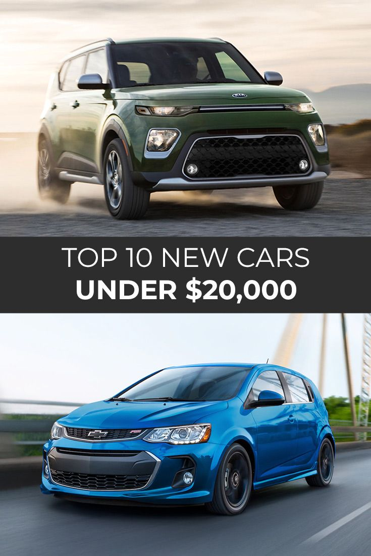 Top 10 New Cars Under 20,000 in 2020 New cars
