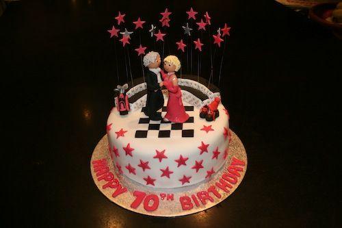 Ballroom Dancing Themed Birthday Cake | golden wedding ...