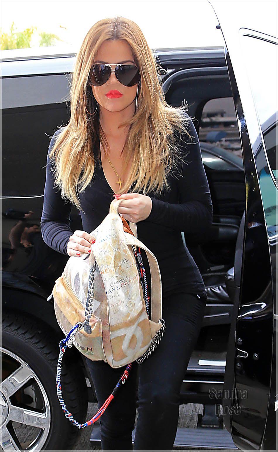 Khloe Kardashian leaves LA   Mochilas, Divas, Celebridad