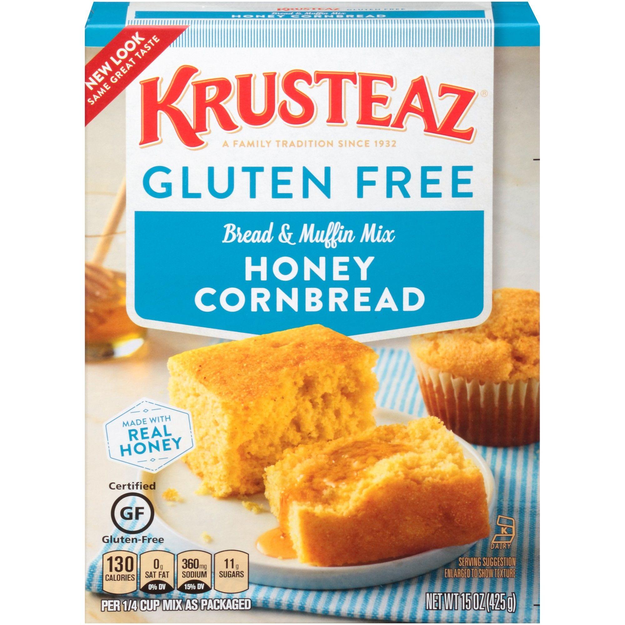 Krusteaz Gluten Free Cornbread Mix And Muffin Mix 15oz Krusteaz Gluten Free Honey Cornbread Gluten Free Cornbread Mix