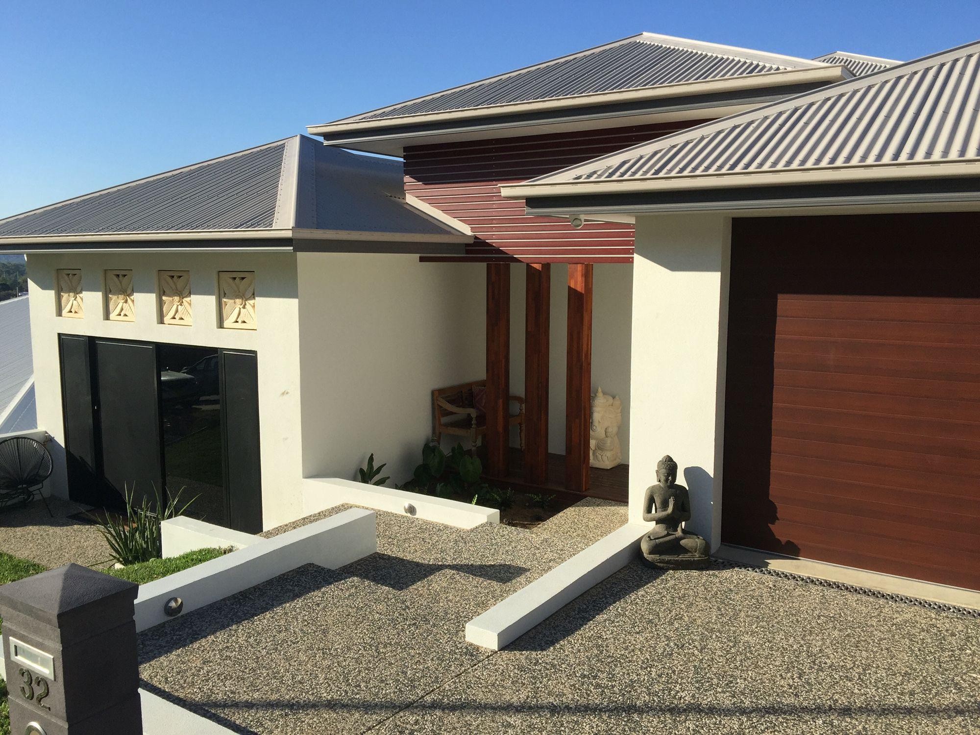 House Colours Colorbond Roof Gutters Dune Facias Basalt