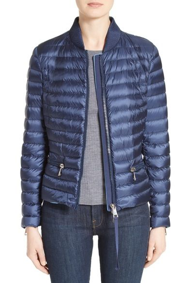 6dc4d90ff Moncler Blen Down Jacket available at #Nordstrom | Fashion | Jackets ...
