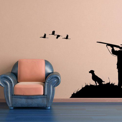 Duck, Bird, Goose, Hunter Scene, Decal, Vinyl, Sticker
