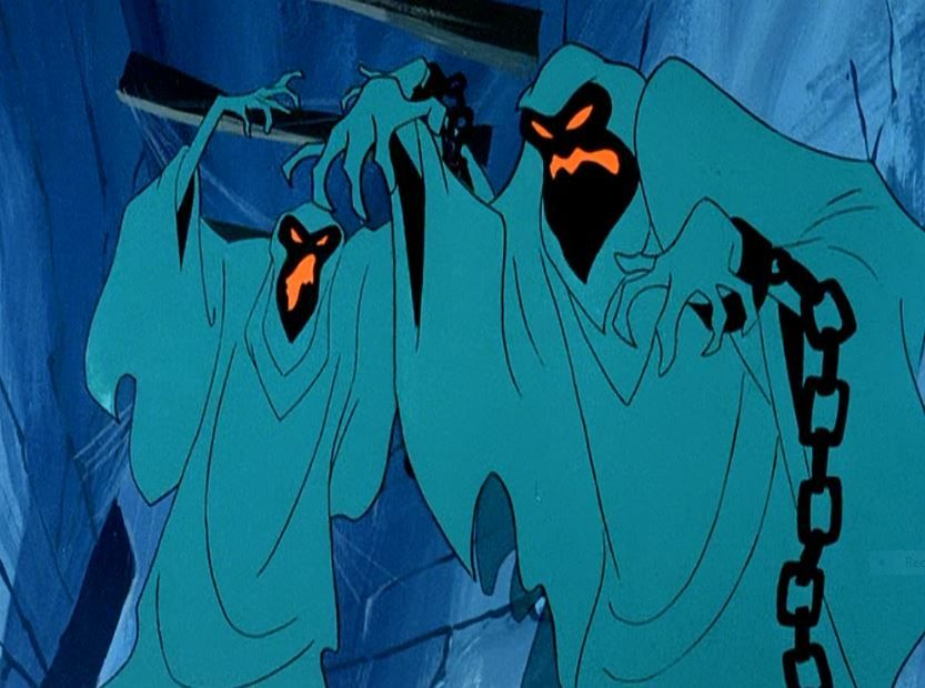 The Green Ghosts were the disguises of Cosgood Creeps and