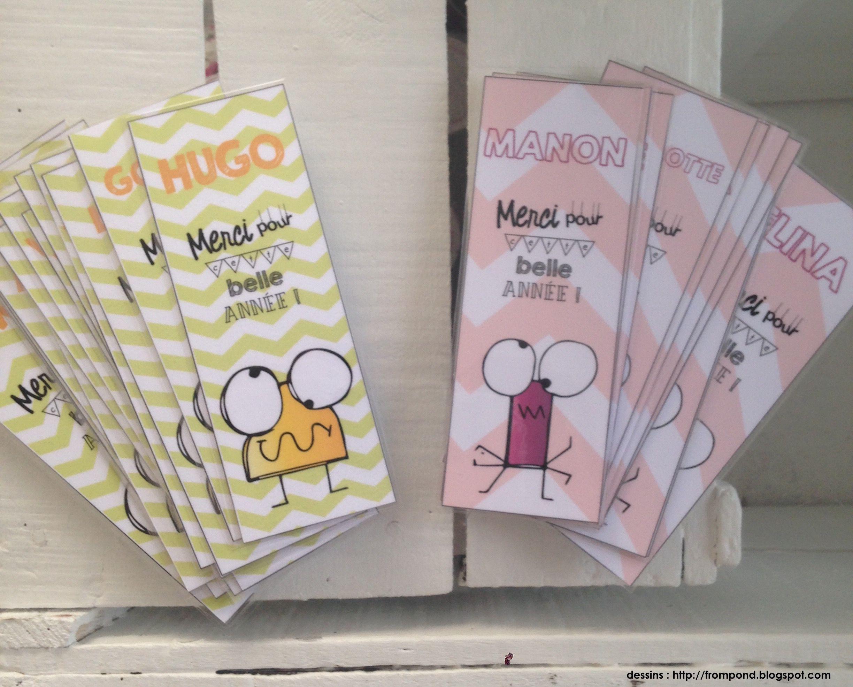 Connu Marque-pages fin d'année | Cadeau utile, Le prenom et Petits cadeaux UH09