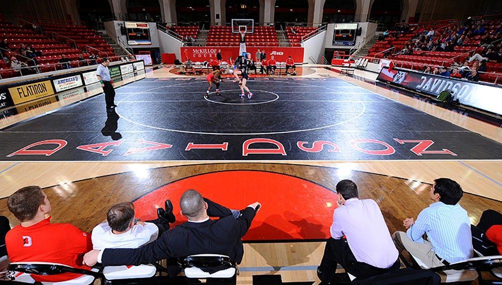 Davidson Adds Colin Johnston to Wrestling Staff