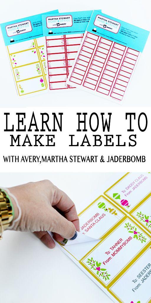 How to make printable labels | PRINTABLES | Printable ...