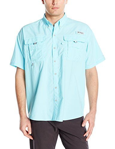 Columbia Mens Bahama II Short-Sleeve Shirt