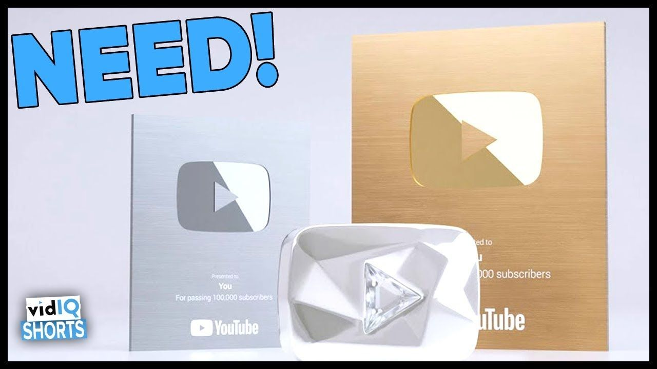 New Youtube Creator Awards And How To Get One Gold And Silver Play Button In 60 Seconds Web Design Tips Simple Web Design Web Design