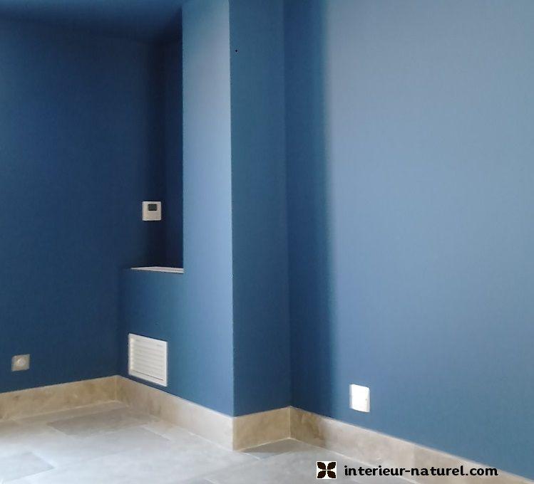 Peinture Bleu Vendôme | Peinture Écologique Et Badigeon De Chaux