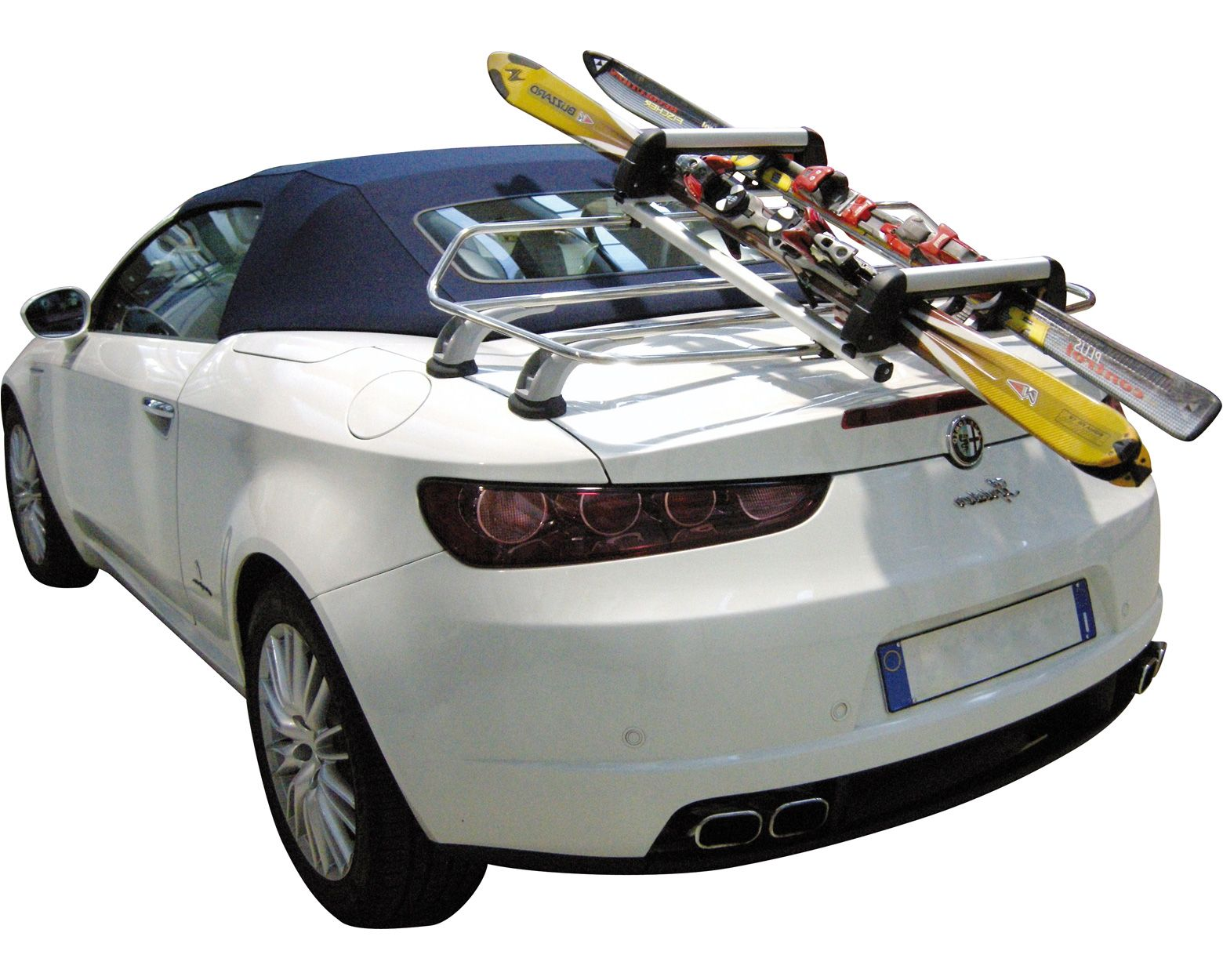 Unispider Ski & Board Transforms Rear Luggage Racks into