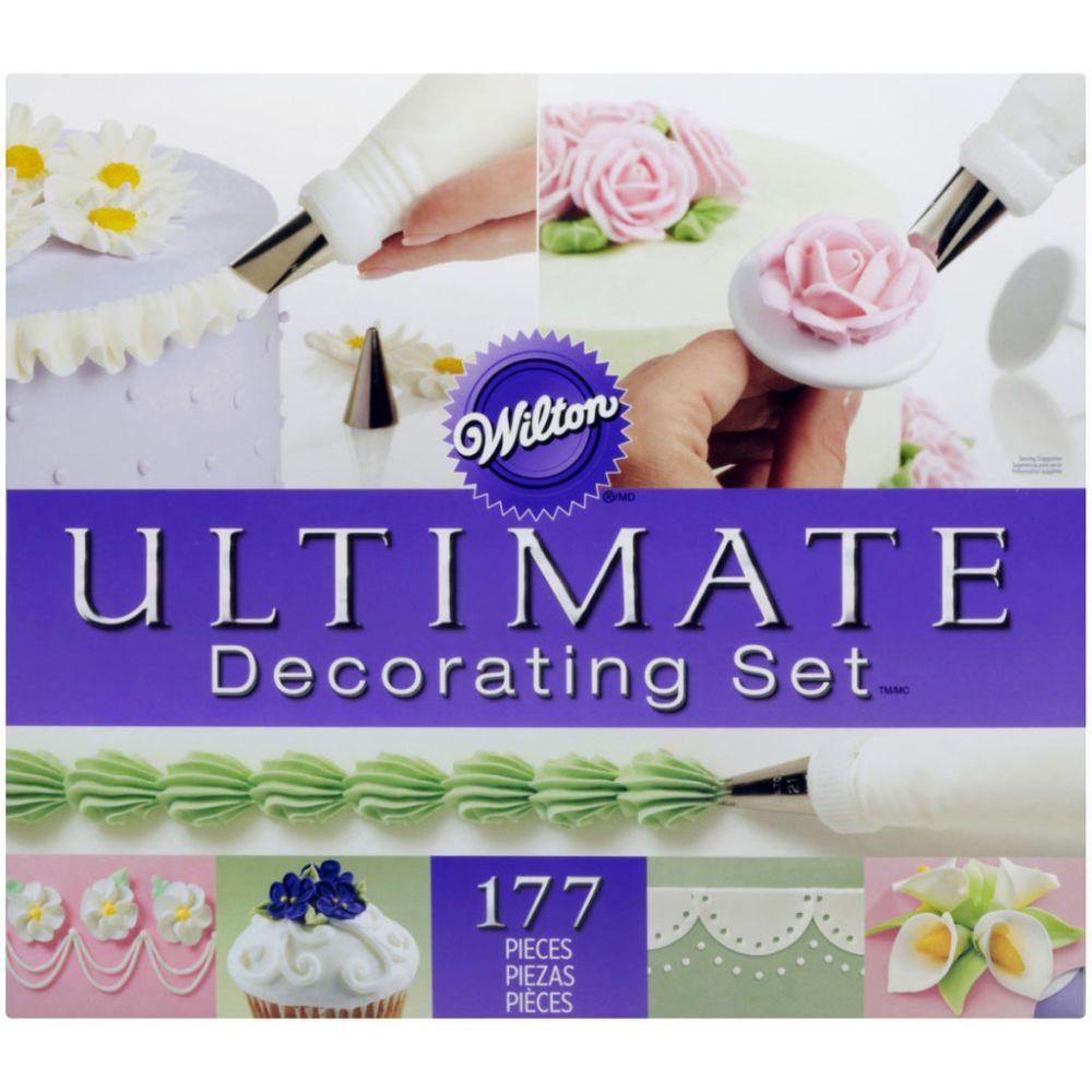 Wilton 174 Ultimate Decorating Set Tool Kit Cake Decorating