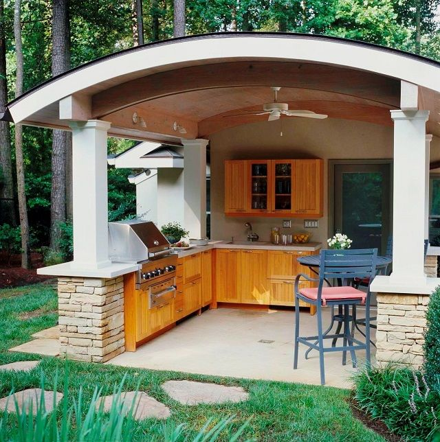Outdoor Kitchen Roof: Living Off The Grid