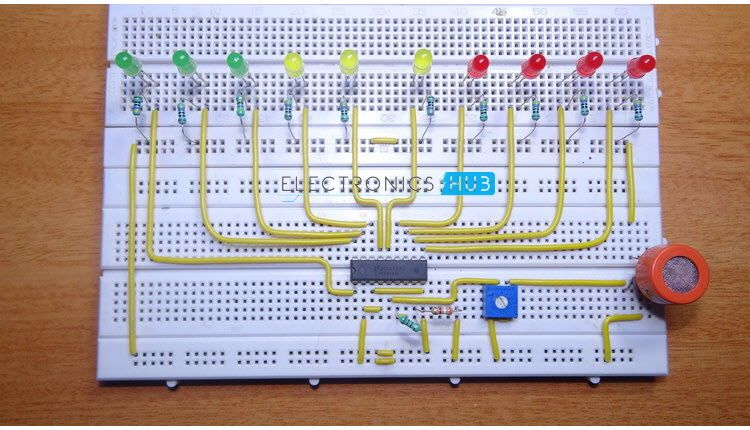How To Make Alcohol Breathalyzer Circuit ? | Pinterest | Circuits ...