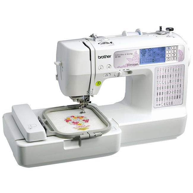Brother SE400 Computerized Sewing and Embroidery Machine (SE400 ...