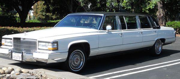 1989 Cadillac Fleetwood Brougham 6 Door Limousine   Cadillac / Limos