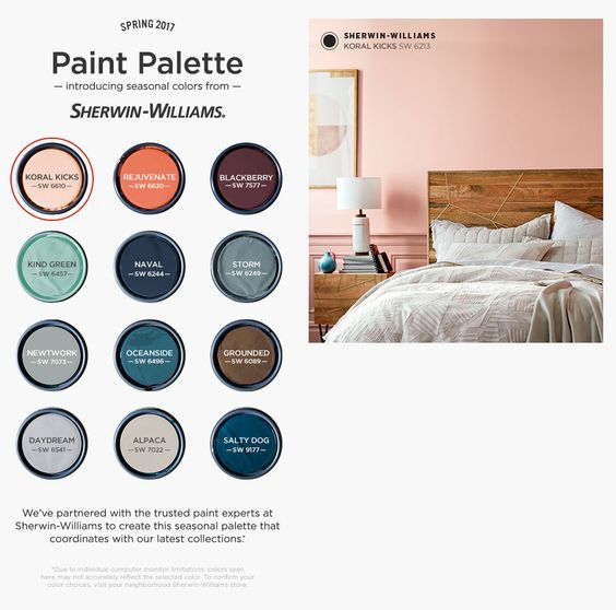 West elm sherwin williams 2017 palette exterior house - Popular exterior house colors for 2017 ...