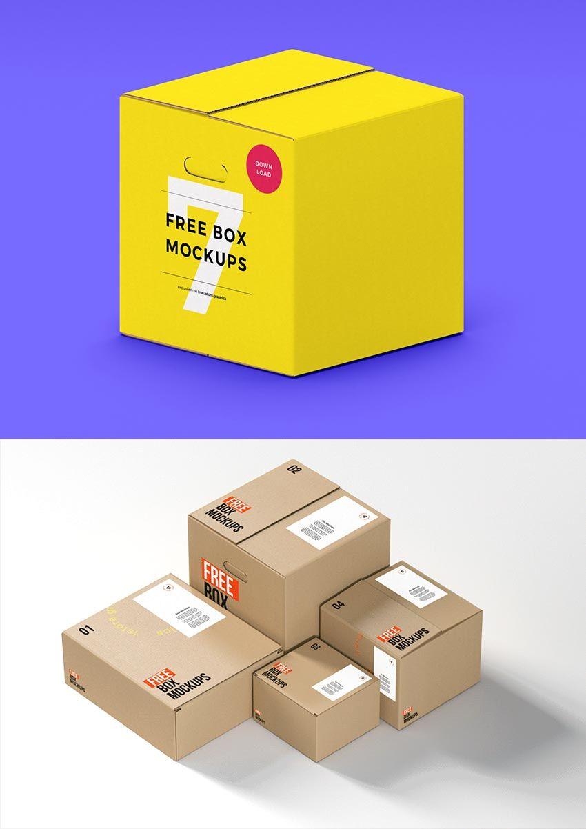 2058+ Hamburger Box Mockup Yellow Images Object Mockups