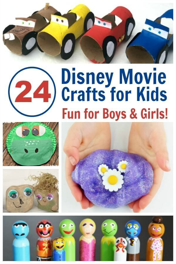 24 Of The Most Fun Disney Movie Crafts For Kids Frugal Living