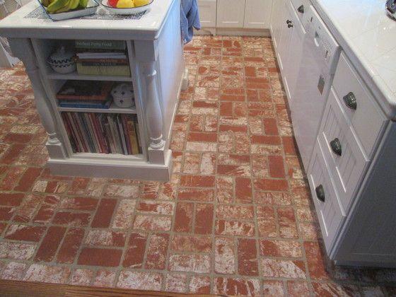 Cleaning Refinishing Brick Pavers For Kitchen Floor Santa Monica Manhattan Beach Area Flooring Brick Tile Floor Brick Tiles