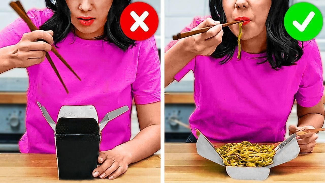 Truques Incomuns Para Quem Ama Fast Food || Maneir