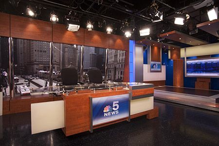 Responsible For Leading In Station Tours Of The Nbc 5 News Room And Studio Nbc Scenes Raffle Prizes