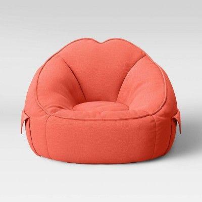Jersey Bean Bag Chair Fresh Melon - Pillowfort™