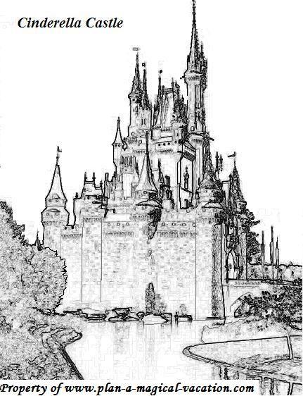 Castle Coloring Page 2 Jpg 431 562 Castle Coloring Page Disney Coloring Pages Coloring Pages