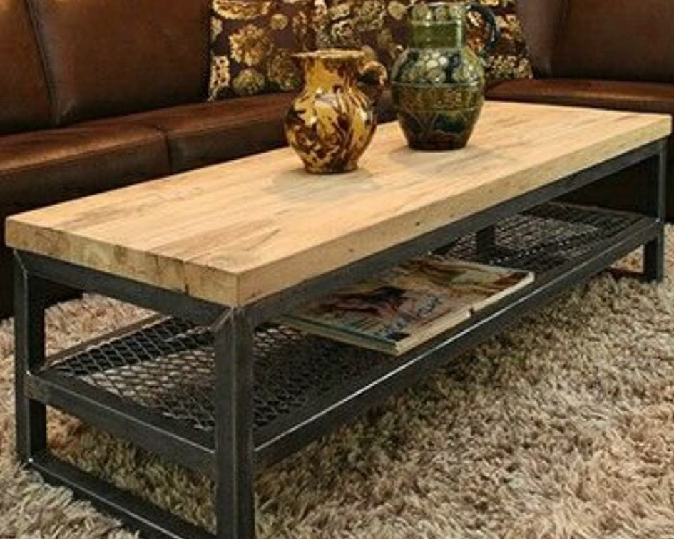 Rustic Home Mumbai On Instagram Industrial Coffee Table