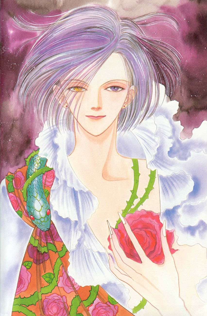 anime heterochromia / odd eyes yellow blue (Count D pet