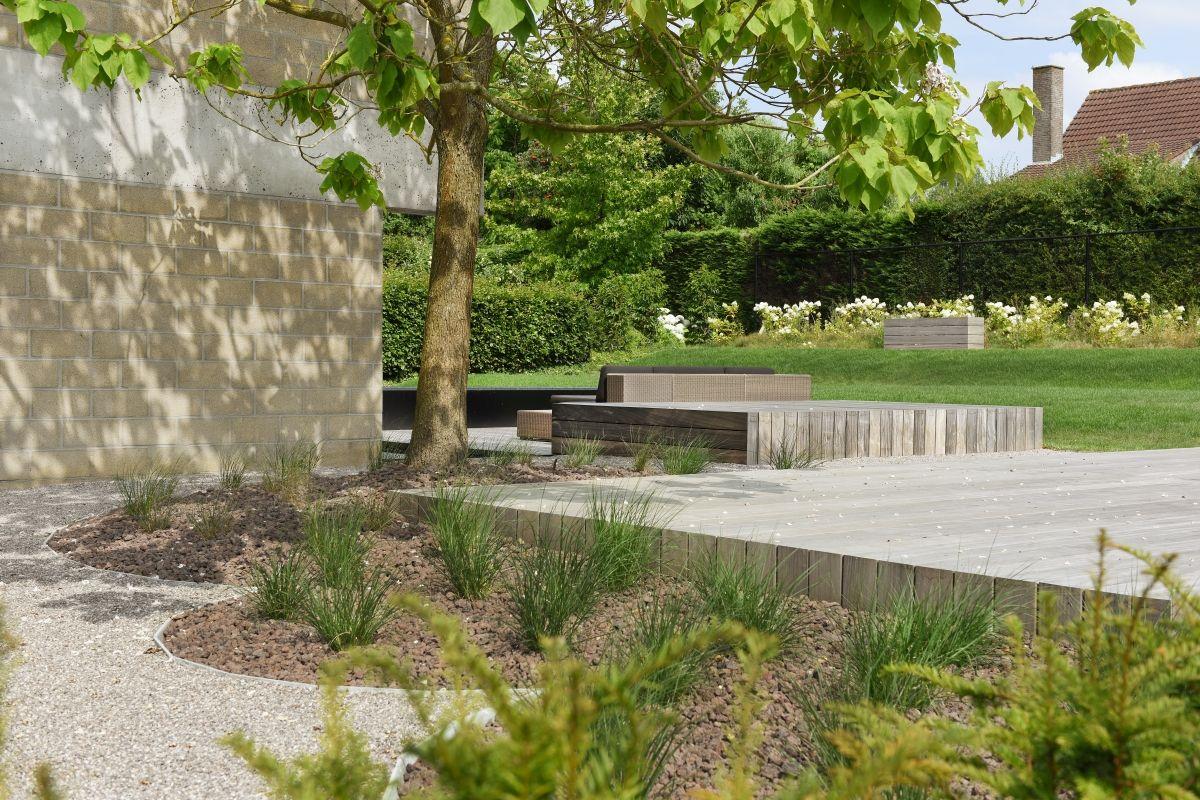 Filip Van Damme Garden Design Backyard Landscape Architecture