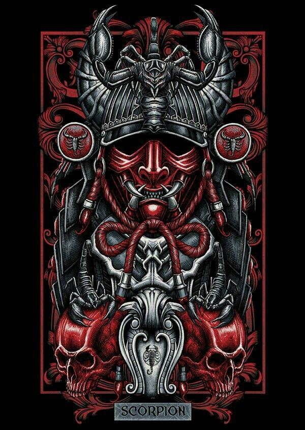#Scorpion #Скорпион | Картинки с черепами, Картинки черепа ...