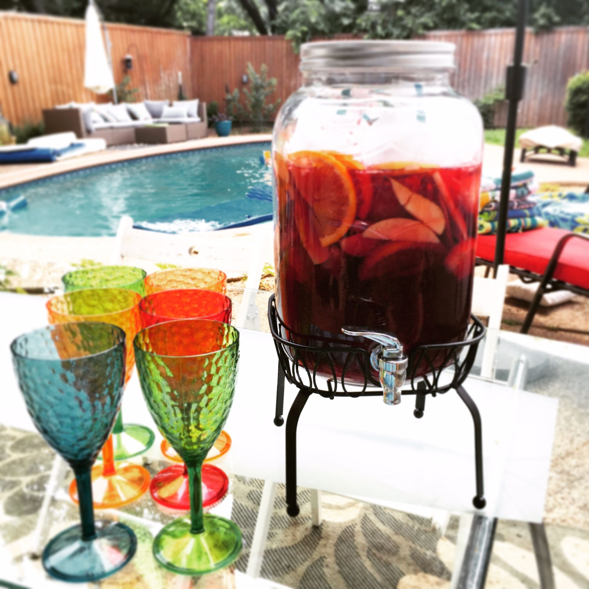 Ghetto Fabulous Sangria Recipe That Will Rock Any Party Recipe Sangria Recipes Eat On A Budget Sangria