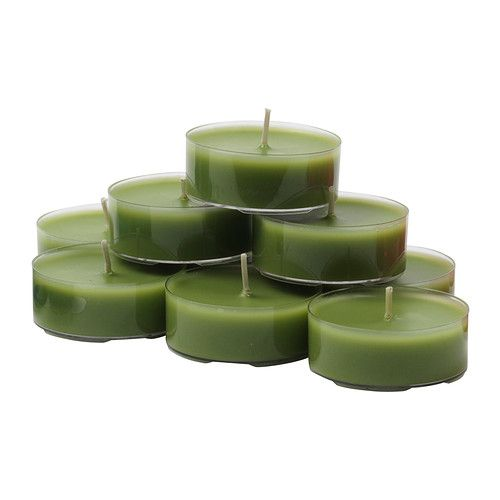 Vaghult Unscented Maxi Tealight Ikea Unscented Ruth S Camp