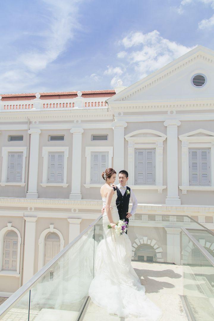 Raffles Hotel \u0026 National Museum Bridal