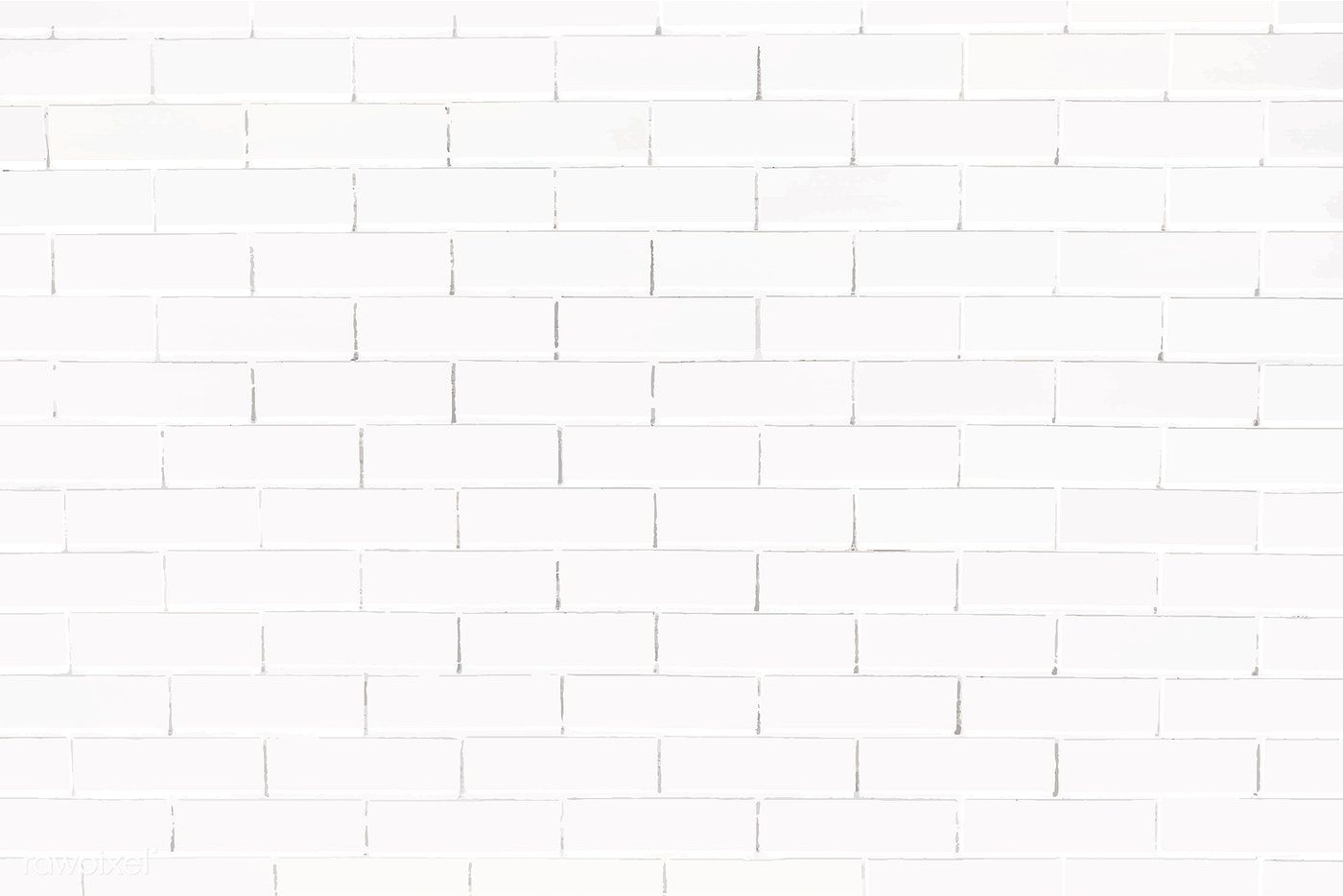 White Brick Wall Textured Background Vector Free Image By Rawpixel Com Aom Woraluck Chim Kung Ploy White Brick Walls Black Brick Wall White Brick