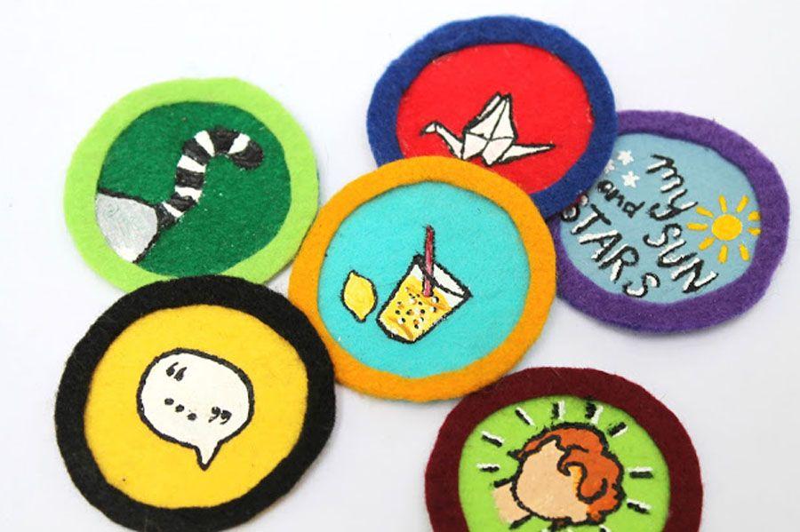 DIY Merit Badges Merit badge, Badge, Badges diy