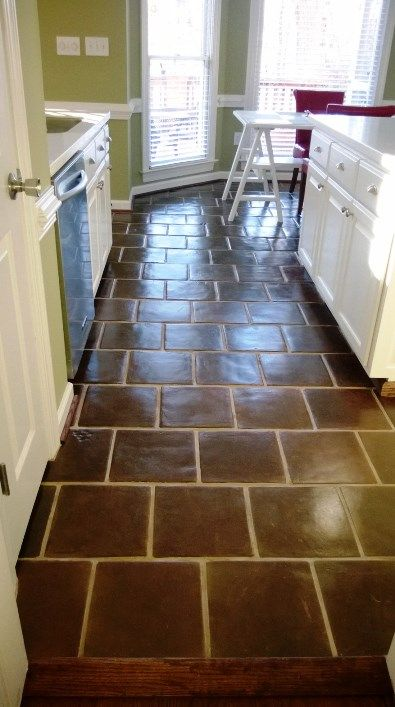 Mexican Tile Spanish Tiles Low Prices Worldwide Shipping Saltillo Tile Brown Tile Floor Tile Floor