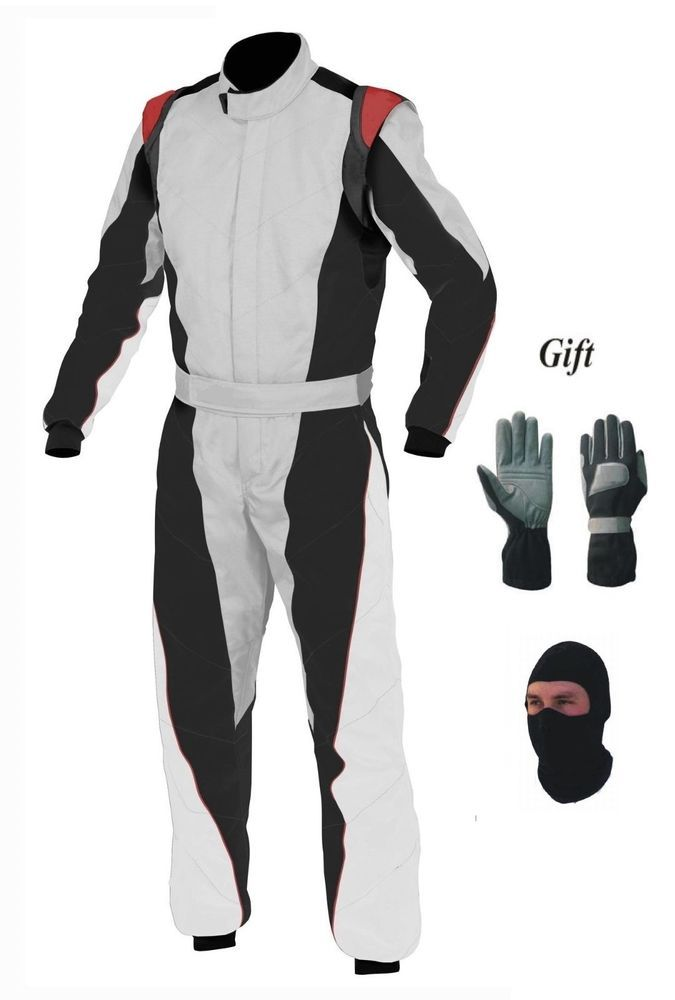 New Go Kart Race Suit Pack With Free Balaclava And Gloves Handmade Handmade Suits Go Kart Racing Suit