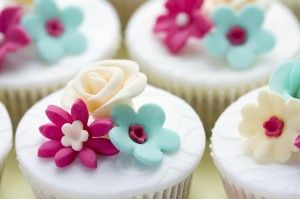 Workshops Taartdecoratie, Wedding cupcakes