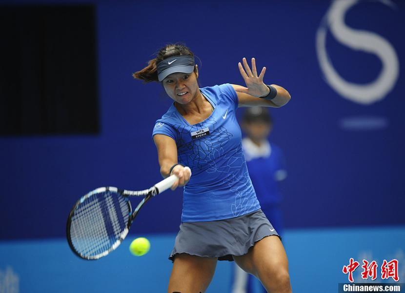 Li Na, Chinese tennis player!